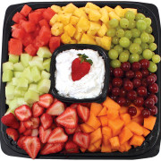 Fresh fruit tray from Hugo's Family Marketplace