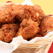 Fresh and crispy fried chicken from Hugo's Family Marketplace