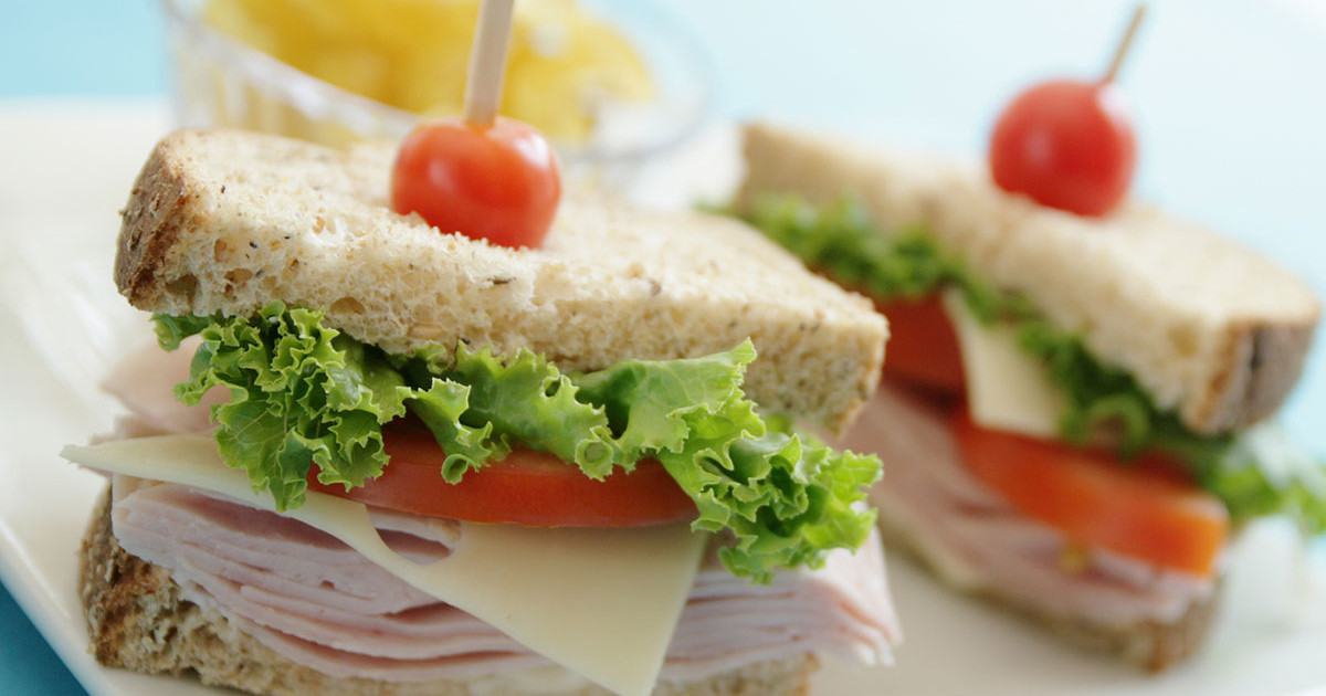 Fresh deli sandwiches at Hugo's Family Marketplace